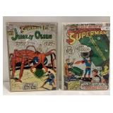 Lot of 2 Superman Comic Books issues #55 and #182