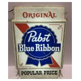 """Pabst Blue Ribbon Light up Sign measures 15"""" x 4"""