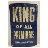 """""""King of All Premiums"""" Crown Gasoline Aluminum"""