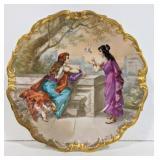 Vintage Limoges marked display platter.