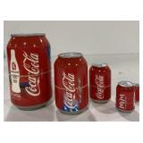2008 Beijing Coca-cola nesting cans