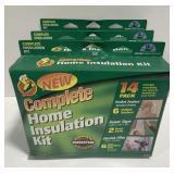 Lot of 3 Home Insulation Kits *bidding per item*