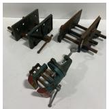 Lot of 3 Clamps