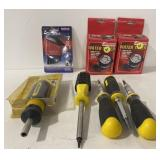 Various screw drivers, water timer and more