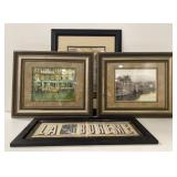 Lot of European themed photographs and prints
