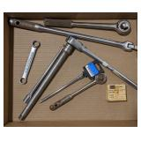 Flat of Socket Wrenches and Torque Bar