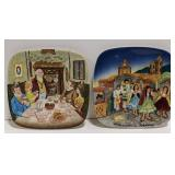 Royal Doulton Christmas in England and Mexico