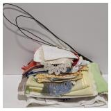 Lot of Linens and Rug Beater