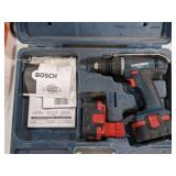 Bosch Compact 14V Power Drill in Case