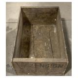 Ensign Wooden Crate