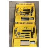 Tool Shop 7 Piece Tool Sets *bidding per item*