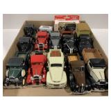 Lot of 13 1:43 scale Model Cars