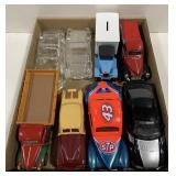Lot of 1:24 Scale Model Cars, After Shave
