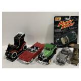 Lot of 1:64 Die-cast cars and more