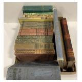 Lot of 17 Vintage School Books