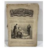 Lot of 8 1872 Appleton