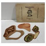 Vintage Masken-Garnitur Paper Mask