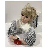 Porcelain Child Doll