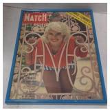 """Match"" magazine featuring ""JAYNE MANSFIELD"""