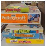 Lot of five board games
