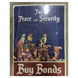 For the Peace and Security Buy Bonds poster. An