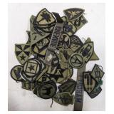 Lot of military patches