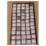 Large box of O.R.S. Word rolls for piano playing