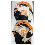 Lot of two The Home Depot sponsored Nascar