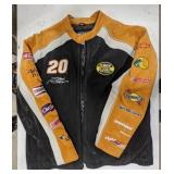 Nascar number 20 jacket sponsored by The Home