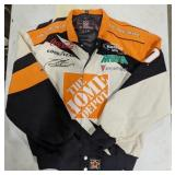 Nascar jacket size M. Sponsored by The Home