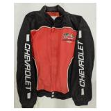 Chevrolet racing jacket. Size L. Racing Champions