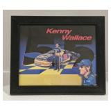Kenny Wallace Signature Framed