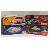 1:24 scale die cast stock cars, one signed Tony