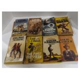 Lot of 14 Louis Lamour books