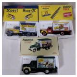 Remington and western die cast metal collector