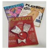 Playboys- 1980 (3 issues)
