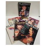 Playboys 1988- 8 issues