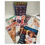 Playboys -1989 (9 issues)