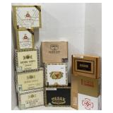 Lot of cigar boxes