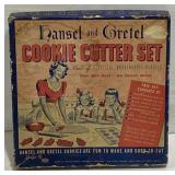 Vintage Hansel and Gretel cookie cutter set