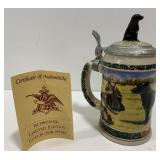 Budweiser Limited Edition Collector Beer Stein