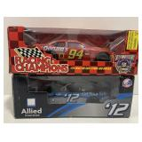 Lot of 2 1:24 Scale NASCAR Stock Cars