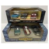 Lot of 2 American Muscle 1:43 Scale Die Cast Car