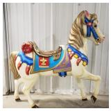 "Merry-Go-Round horse.  No pole . Approx 33""t"