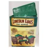 The original Lincoln Logs -  Fort Redwood