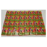 Lot Of 1990 Topps Foitball Cards Wax Packs