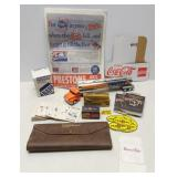 Vintage Service Station / Auto Promotional Items