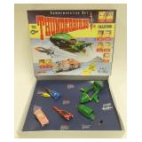 Die-Cast The Thunderbirds Commemorative Set In