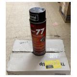 12 3M Super 77 Multi purpose Spray Adhesive