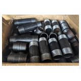 Various double threaded pipe lot diameter is 1